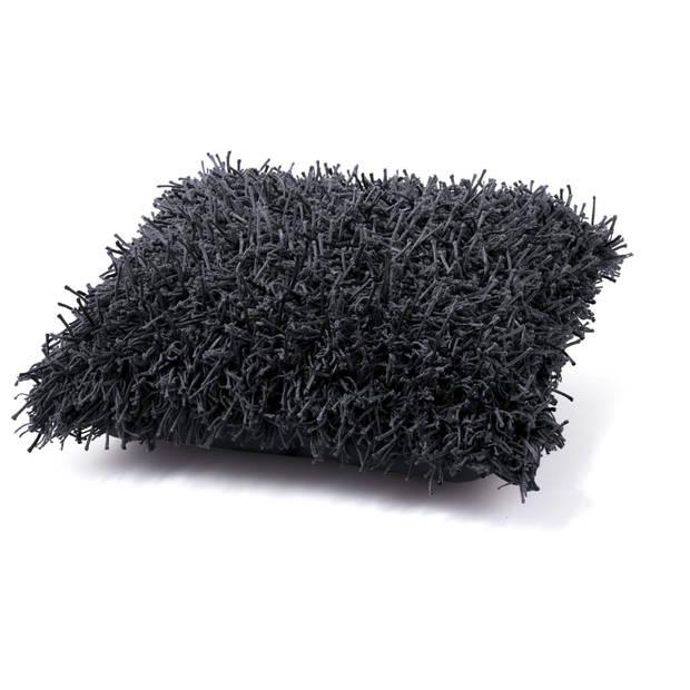 Dutch decor kussenhoes ottawa 45x45 cm zwart