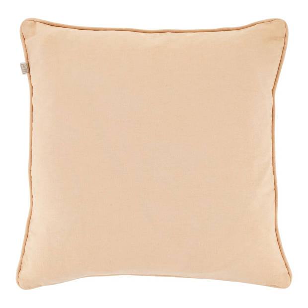 Dutch Decor Kussenhoes Sonam 45x45 cm zalm