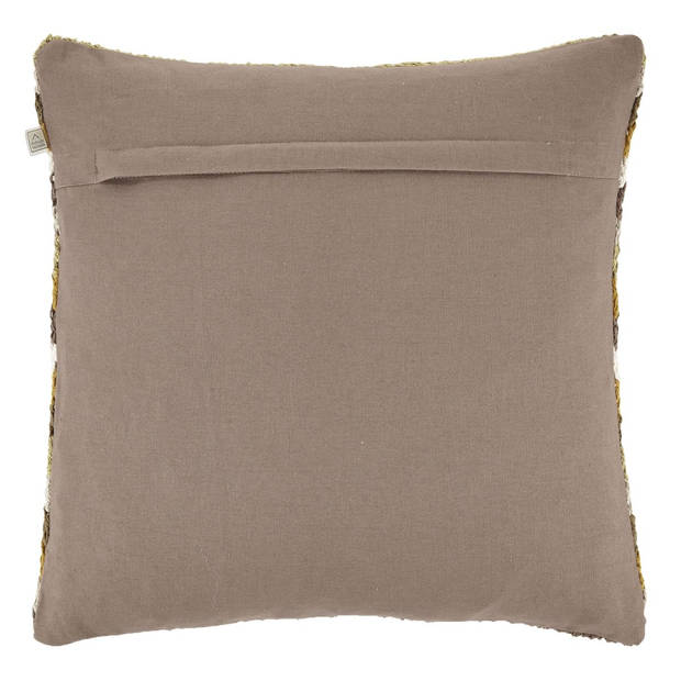 Dutch Decor Kussenhoes Casta 45x45 cm taupe