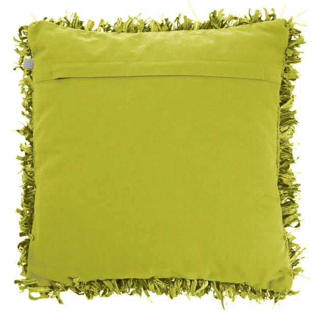 Dutch Decor Kussenhoes Shannon 45x45 cm lime