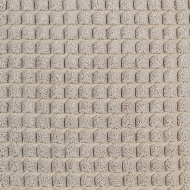 Dutch Decor Kussenhoes Rome 45x45 cm Pumice Stone