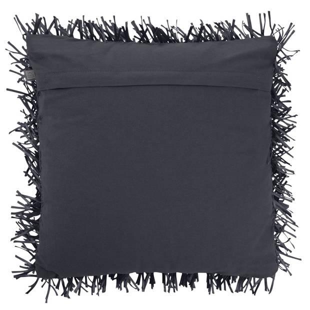 Dutch Decor Kussenhoes Ravello 45x45 cm zwart