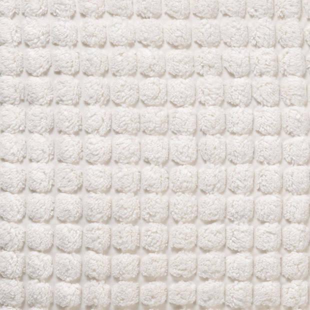 Dutch Decor Kussenhoes Rome 45x45 cm Snow White