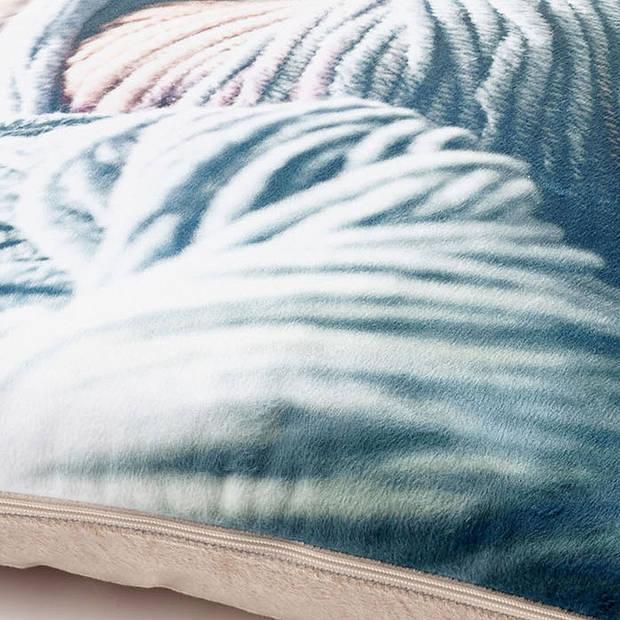 Dutch Decor Kussenhoes Yarn 45x45 cm koper