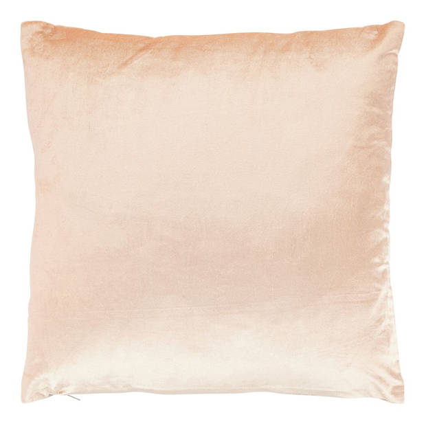Dutch Decor Kussenhoes Krone 45x45 cm zalm
