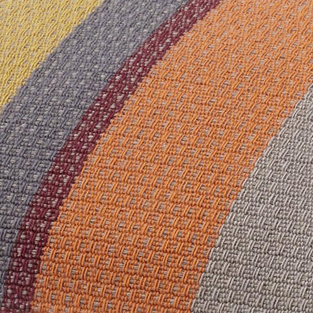 Dutch Decor Kussenhoes Denes 45x45 cm taupe