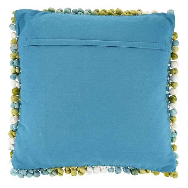 Dutch Decor Kussenhoes Alita 45x45 cm turquoise