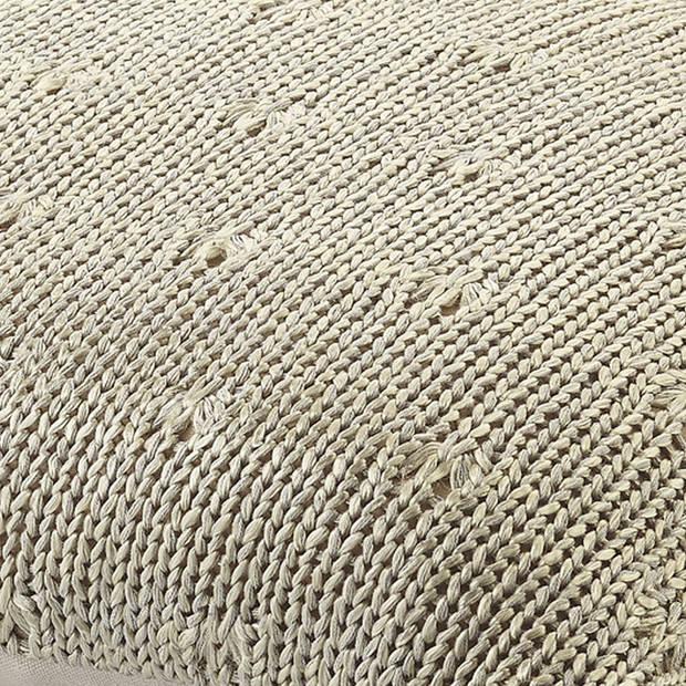 Dutch Decor Kussenhoes Erica 45x45 cm zand