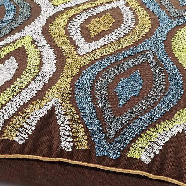 Dutch Decor Kussenhoes Ormose 45x45 cm groen