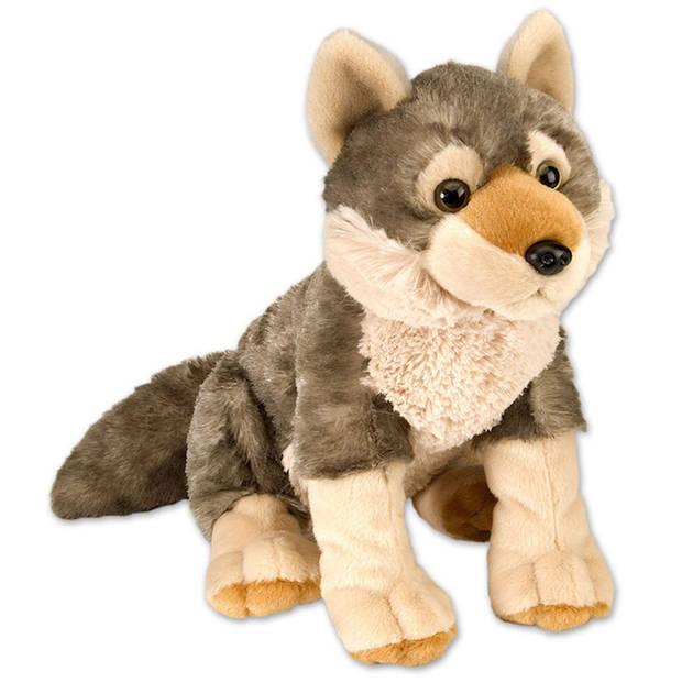 Wild Republic pluche wolf - 30 cm