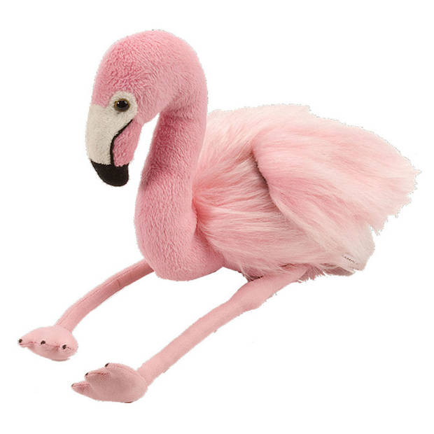 Wild Republic pluche flamingo - 30 cm