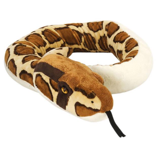 Wild Republic pluche birmese python - 137 cm