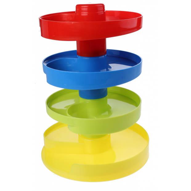 Let's Play ballentoren met ballen 17 cm 3-delig