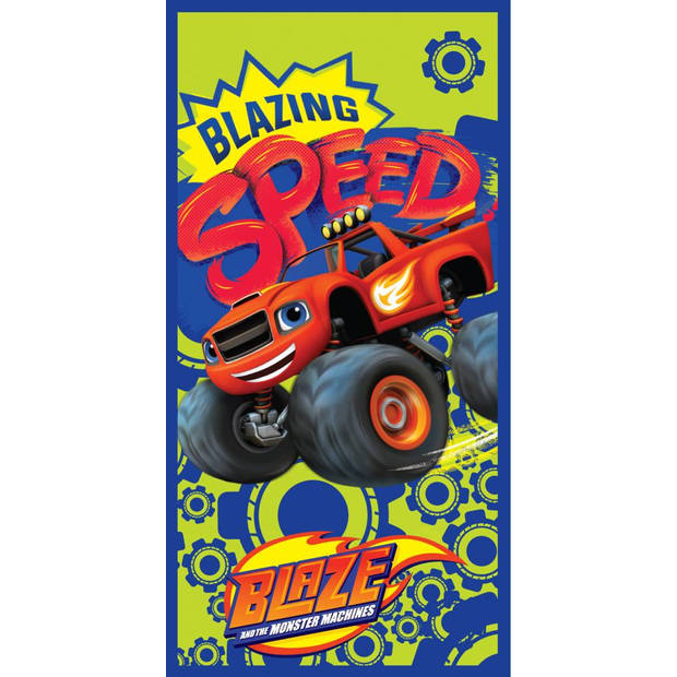 Blazing Speed - Strandlaken - 70 x 140 cm - Multi