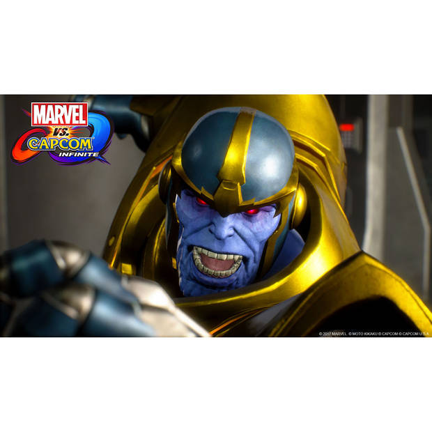 PS4 Marvel versus Capcom Infinite