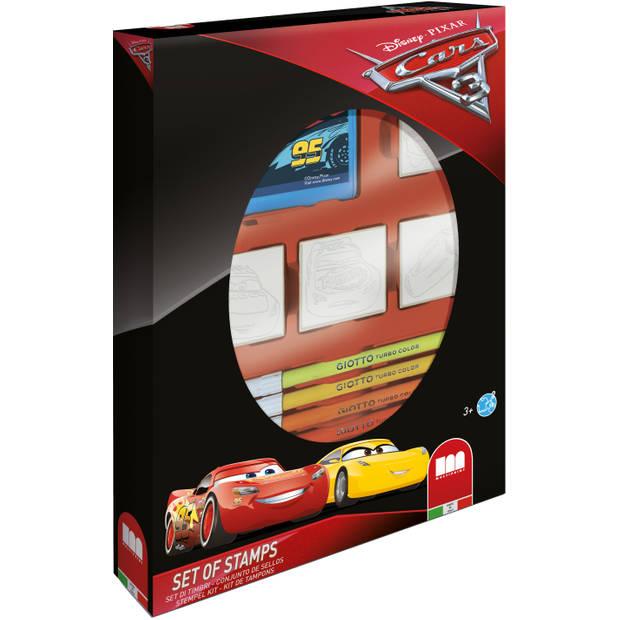 Stempelset Cars 3 12-delig