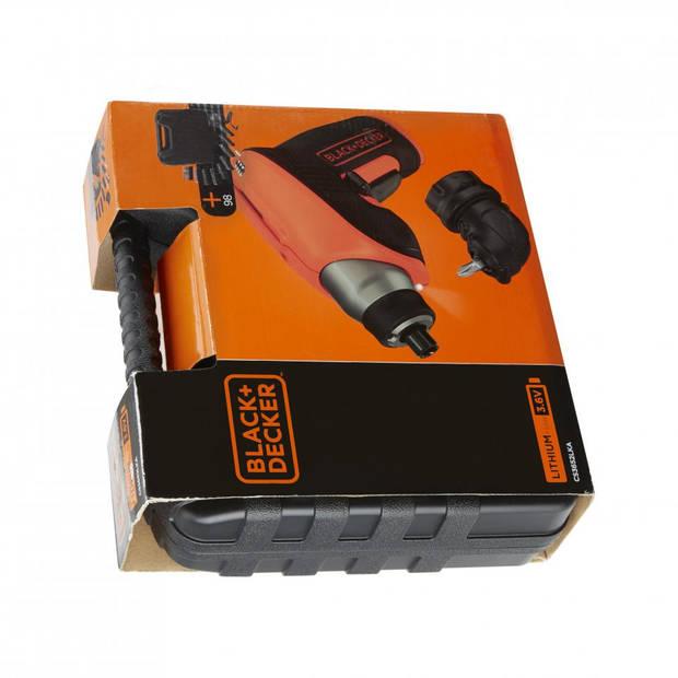 Black & Decker accuschroevendraaier kofferset 98-delig CS3652LK-QW