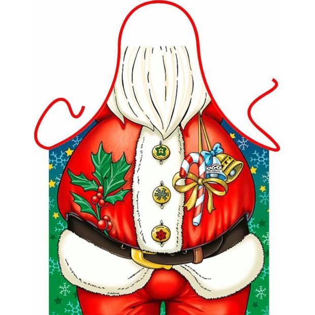 Kerstman - Grappig Leuk Schort Keukenschort
