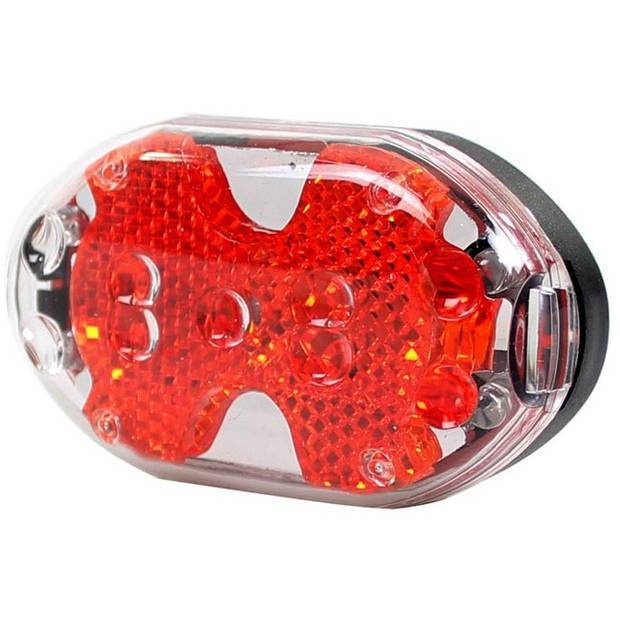 Simson achterlicht batterij led rood