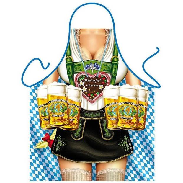 Oktoberfest Frau - Grappig Leuk Tirol Tiroler Schort Keukenschort