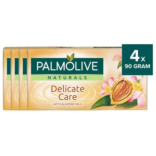 Palmolive Naturals Amandele Tabletzeep 4x90gram