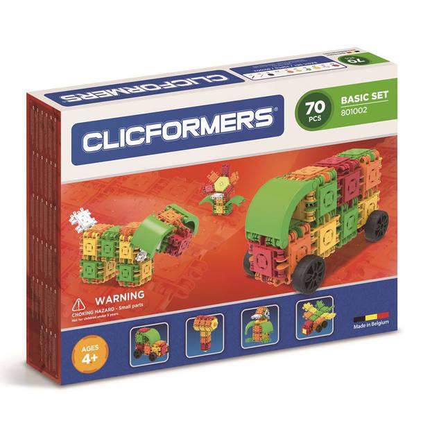 Clicformers basisset - 70 stuks