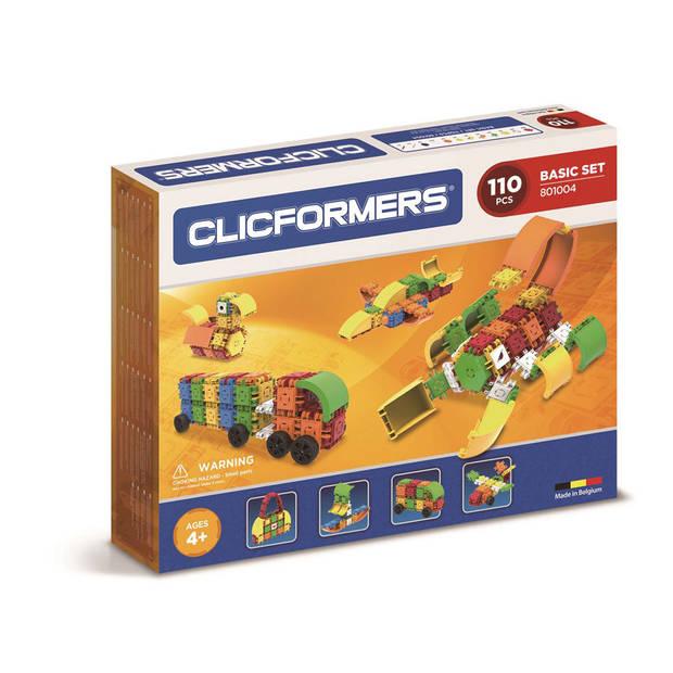 Clicformers basisset - 110 stuks