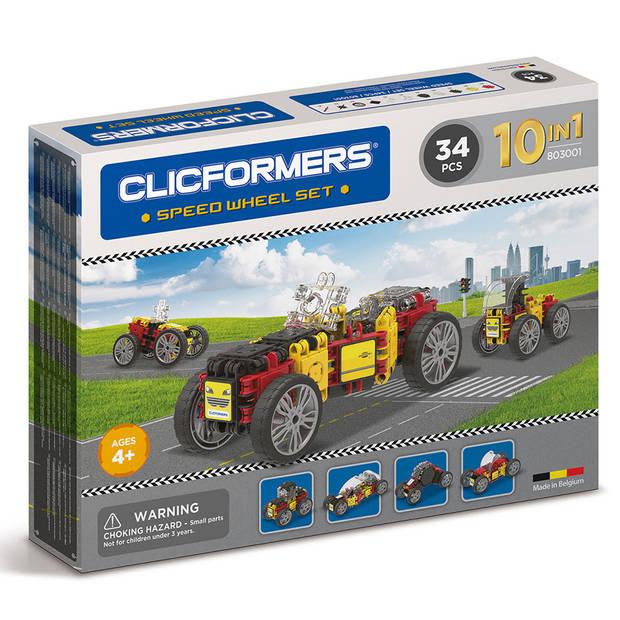 Clicformers racewagenset