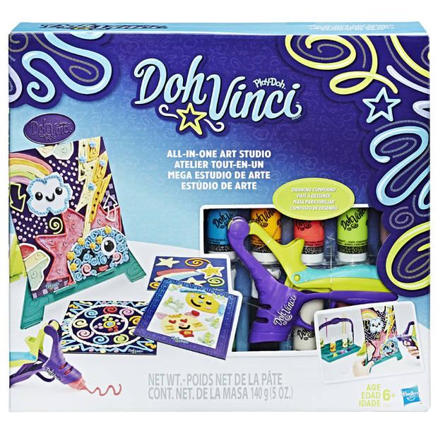 Play-Doh DohVinci kunstezel speelset