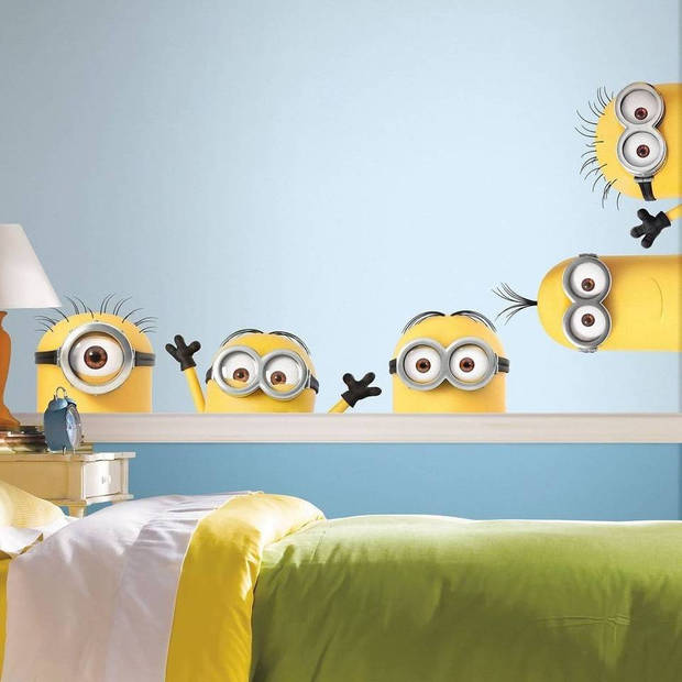 Roommates muurstickers Minions 3 stickers