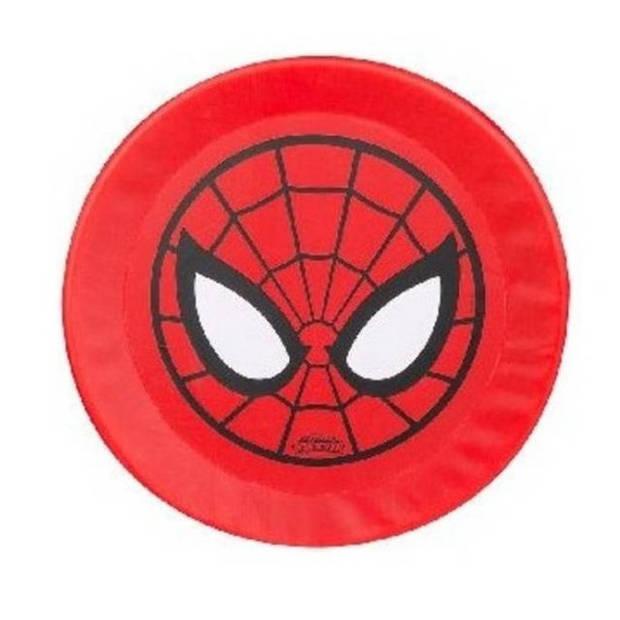 Sambro Spider-Man frisbee foam rood 42 cm