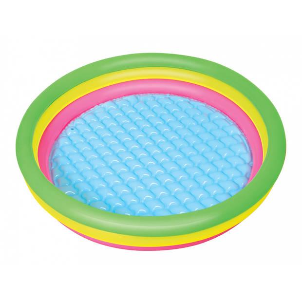 Bestway opblaaszwembad multicolor 102 x 25 cm