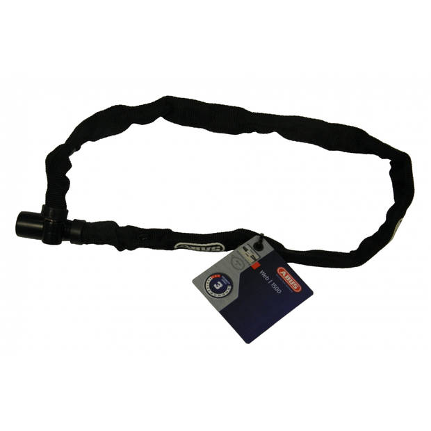 Abus Kettingslot Web 1500 zwart 1100 x 4 mm