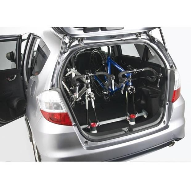 Minoura fietsendrager Vergo 2 fietsen zilver