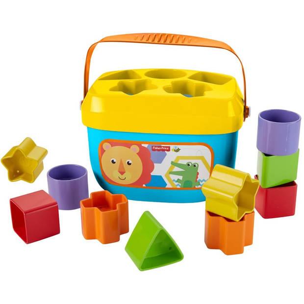 Fisher-Price Baby's Eerste Blokken blokkendoos 18x12x12 cm