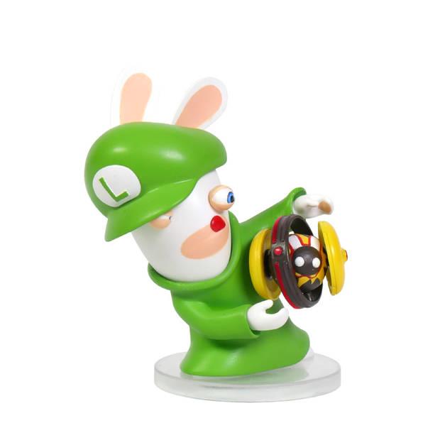 Mario + Rabbids Kingdom Battle - Rabbid Luigi figuur - 8 cm