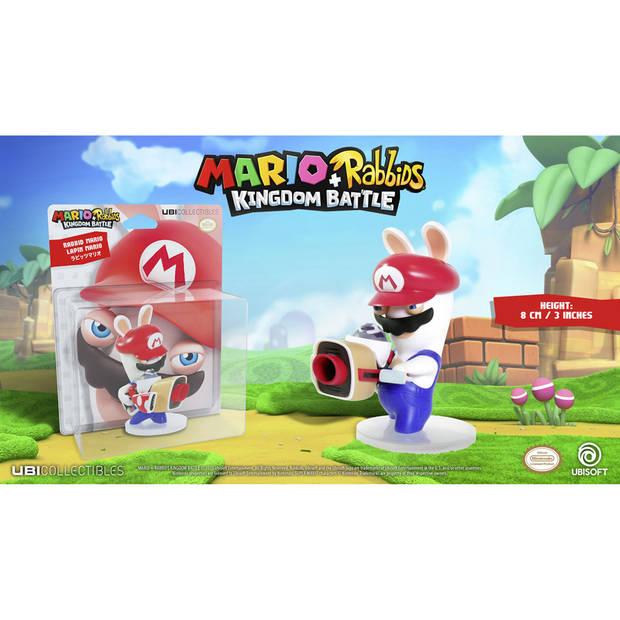 Mario + Rabbids Kingdom Battle - Rabbid Mario figuur - 8 cm