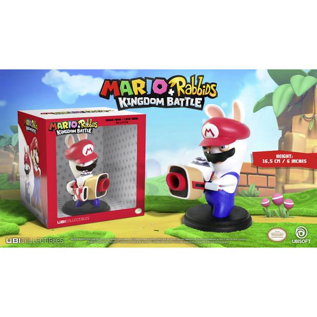 Mario + Rabbids Kingdom Battle - Rabbid Mario figuur - 16,5 cm