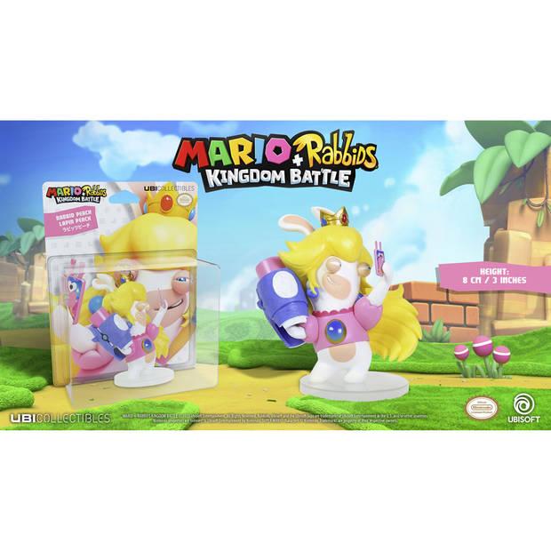 Mario + Rabbids Kingdom Battle - Rabbid Peach figuur - 8 cm