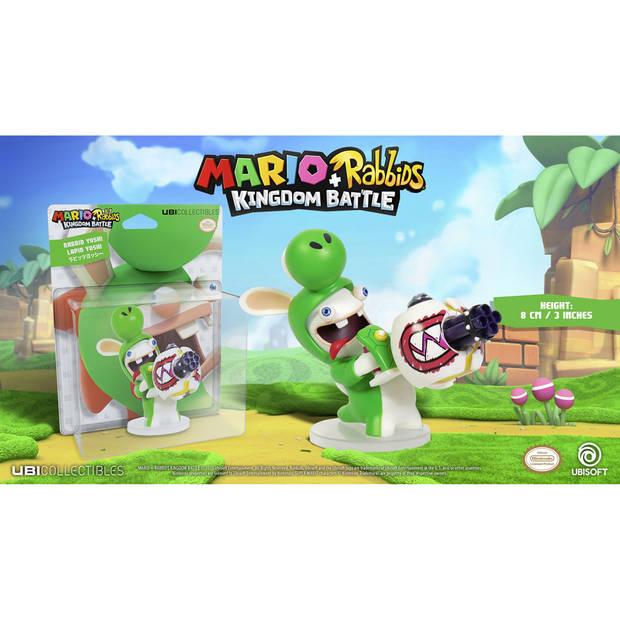 Mario + Rabbids Kingdom Battle - Rabbid Yoshi figuur - 8 cm
