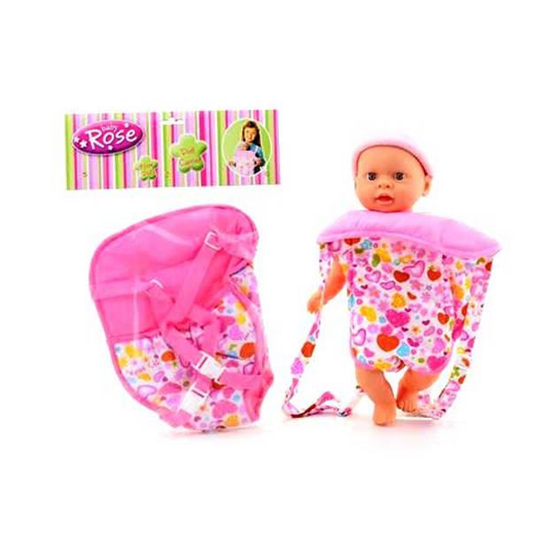 Baby Rose Buikdraagzak
