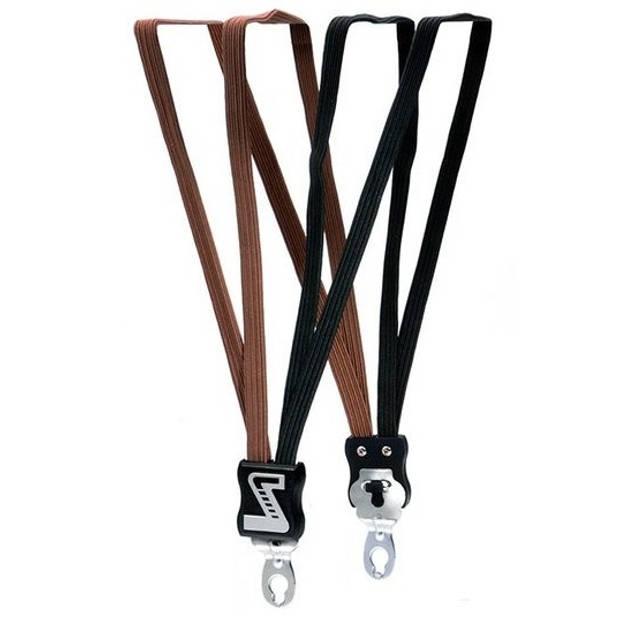 Simson snelbinder extra sterk zwart/bruin