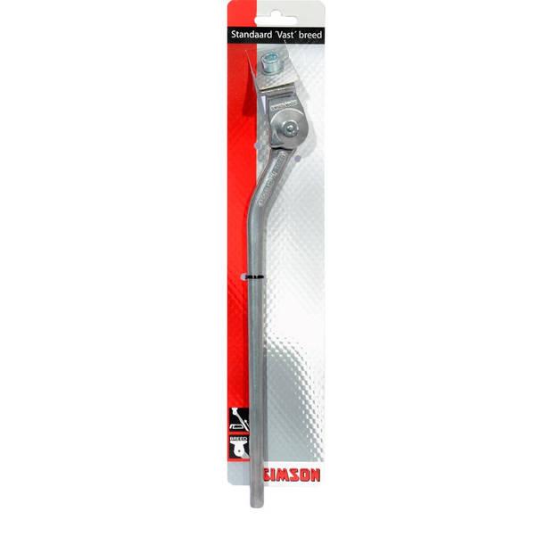 Simson standaard vast breed 28 inch aluminium zilver