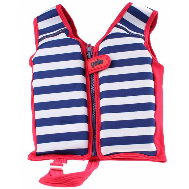 Yello Kids Float zwemvest junior donkerblauw/wit 5-6 jaar