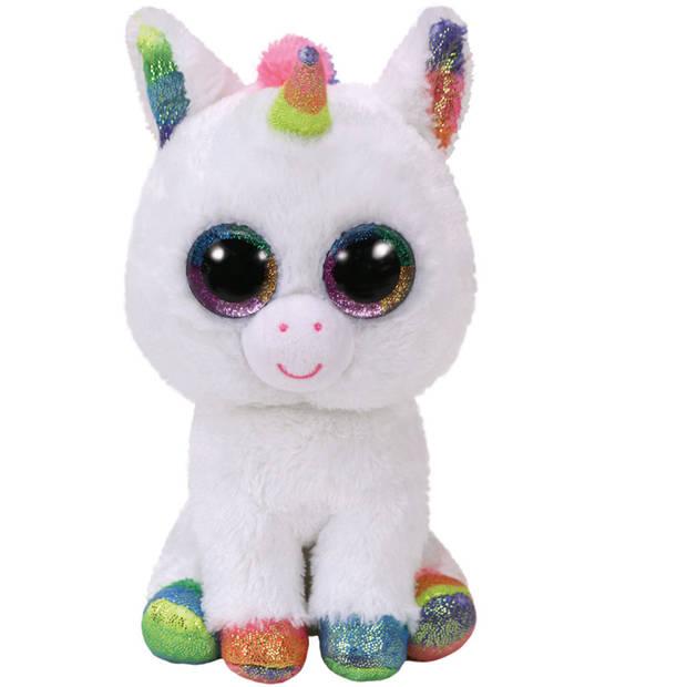 Ty Beanie Boo's knuffel eenhoorn Pixy - 15 cm