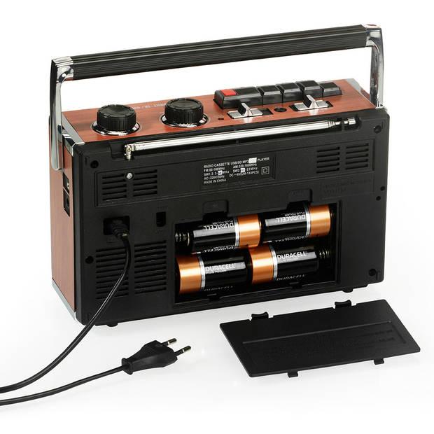 Ricatech PR85 Draagbare Retro Radio