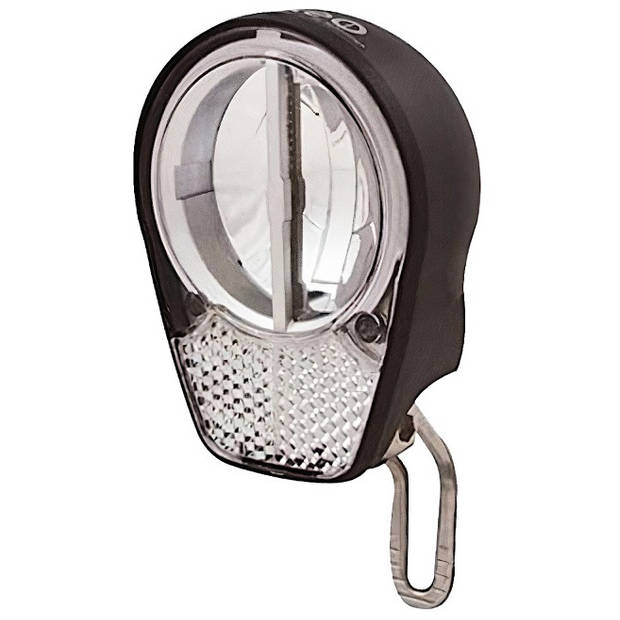 Simson koplamp Roxeo 15+ lux led naafdynamo voorvork zwart