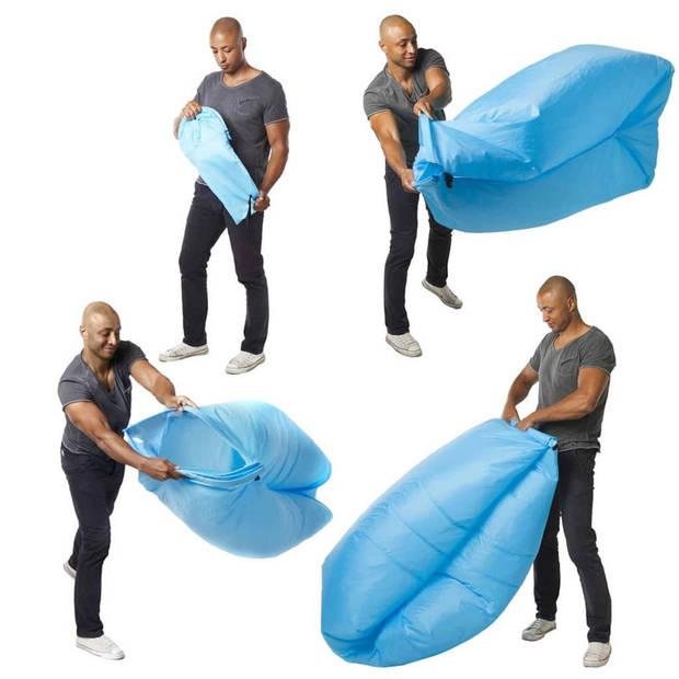 Seatzac zitzak blauw 100 kg sz00005