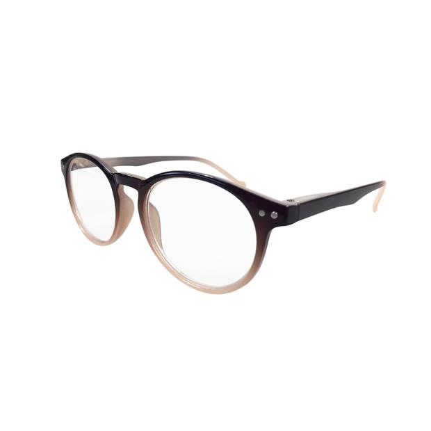 Leesbril Milky Bruin Grad Sterkte 1