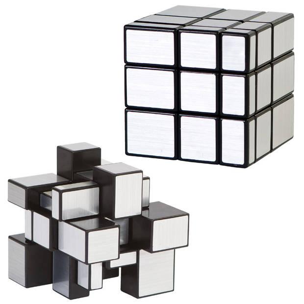 Clown Games Magic kubus puzzel - zilver